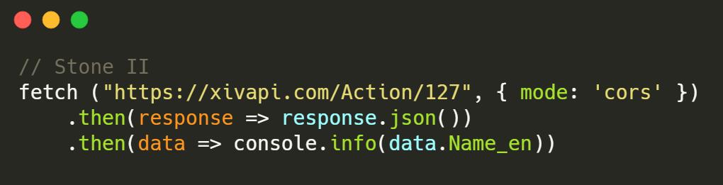 XIVAPI - A FINAL FANTASY XIV: Online REST API